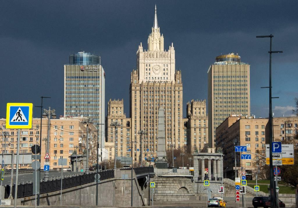 МИД РФ выразил протест Киеву из-за провокации украинских националистов