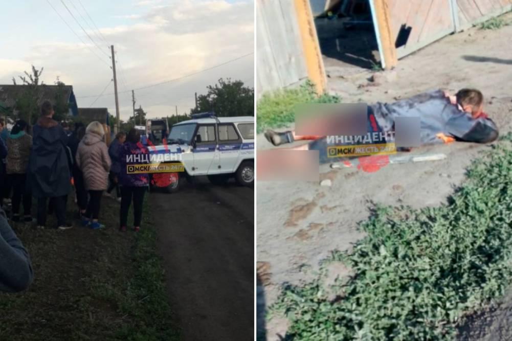 'Ранил жену с сыном и убил дочь': Под Омском пьяный многодетный отец устроил жестокую расправу над семьёй
