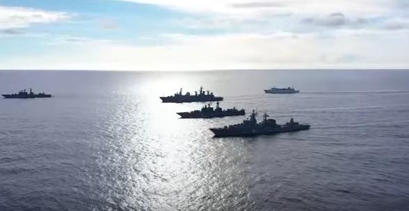 В Тихом океане развернули силы ВМФ России для масштабных учений