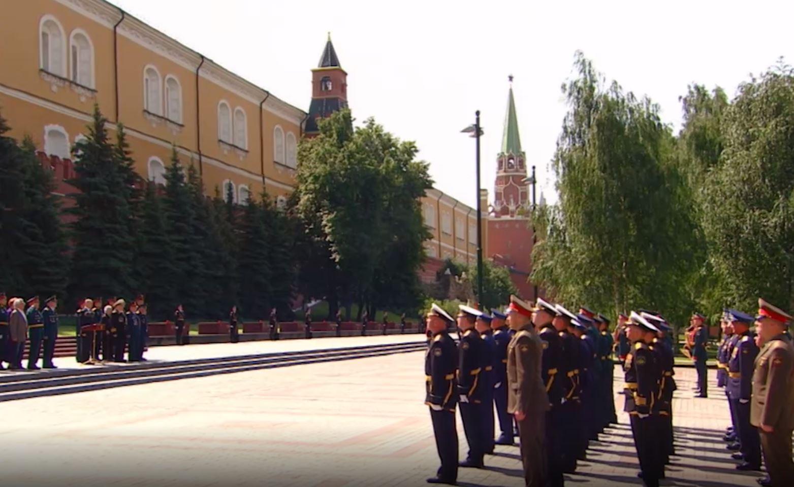 В России прошла минута молчания в память о жертвах Великой Отечественной войны