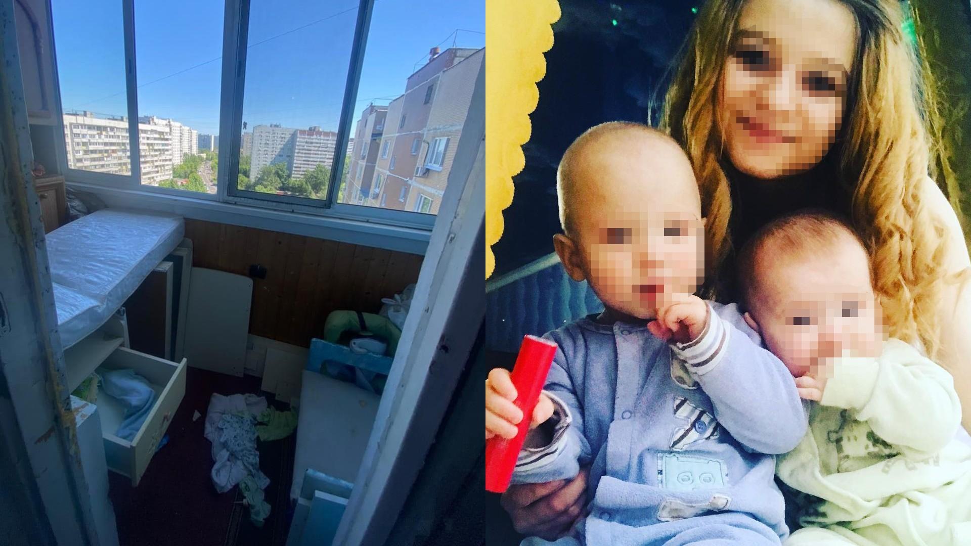 Девушка, чей сын выпал из окна 14-го этажа на юге Москвы, строила из себя идеальную мать в соцсетях
