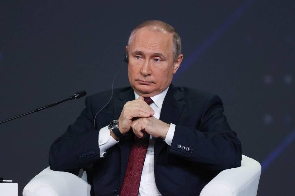 Путин: Власти России выделили на борьбу с пандемией 4,5% ВВП