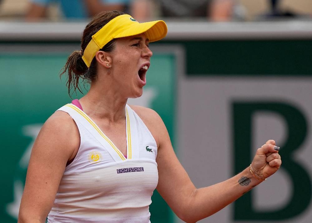 Павлюченкова впервые за десять лет вышла в четвертьфинал 'Ролан Гаррос'