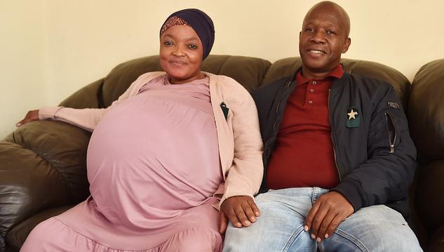 Мать из ЮАР родила сразу 10 детей и побила мировой рекорд