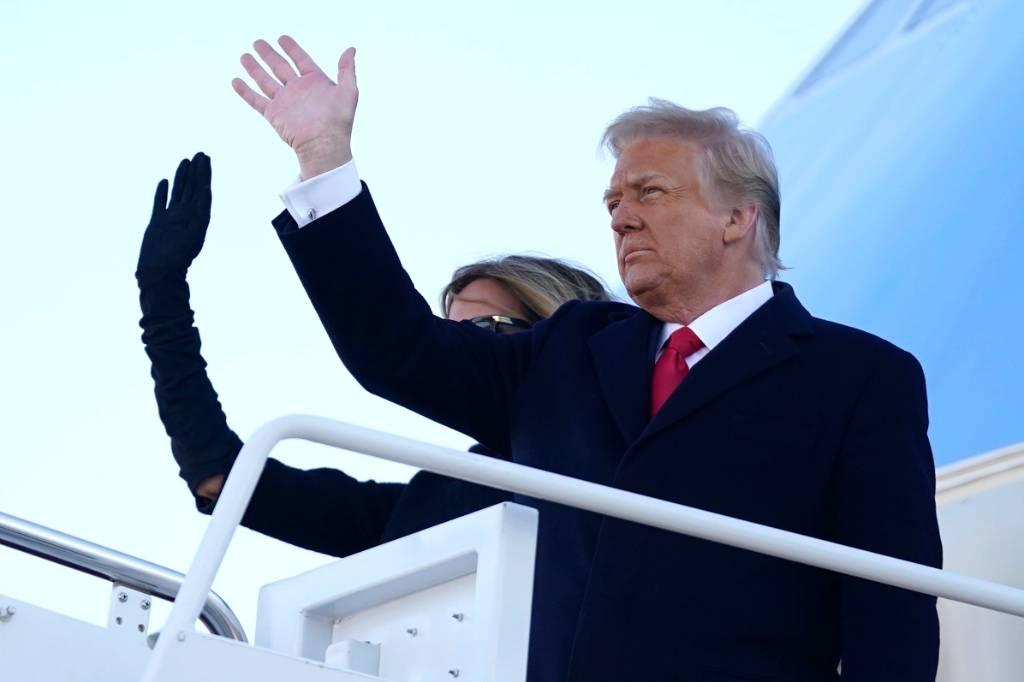 Стало известно, когда состоится первое выступление Трампа после ухода с поста президента