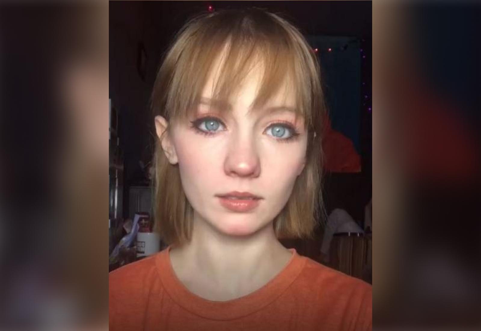 Блогерша всего лишь показала язык, но теперь подписчики видят в ней жуткого Венома вирусное видео