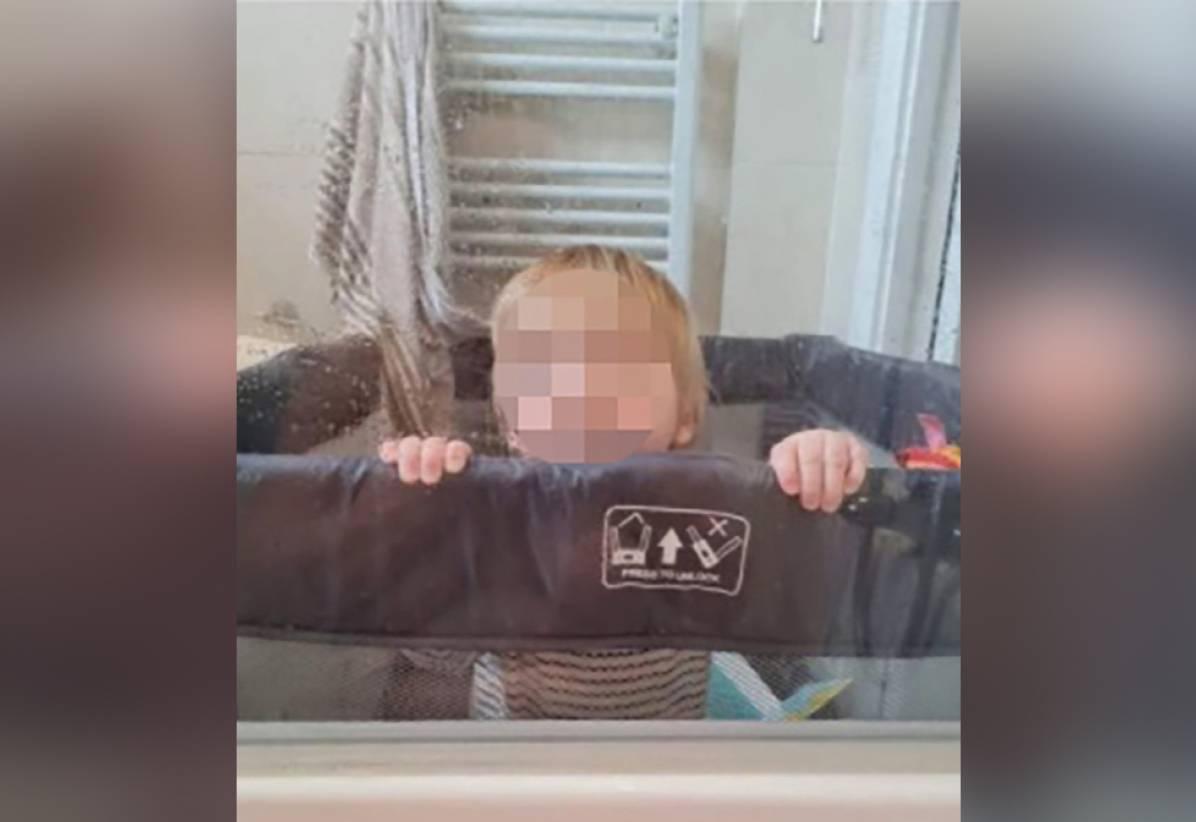 Мама отправила фото сына в семейный чат, не заметив своё голое отражение на одной маленькой детали