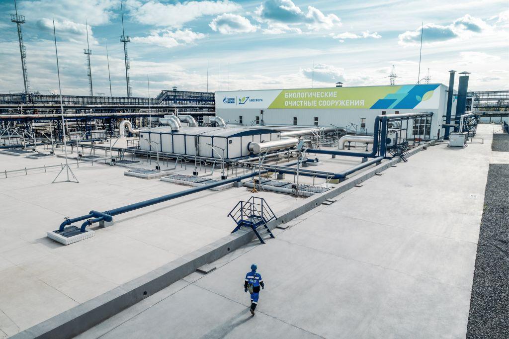 Технологии 'Биосферы' позволили в четыре раза сократить расход воды на Московском НПЗ 'Газпром нефти'