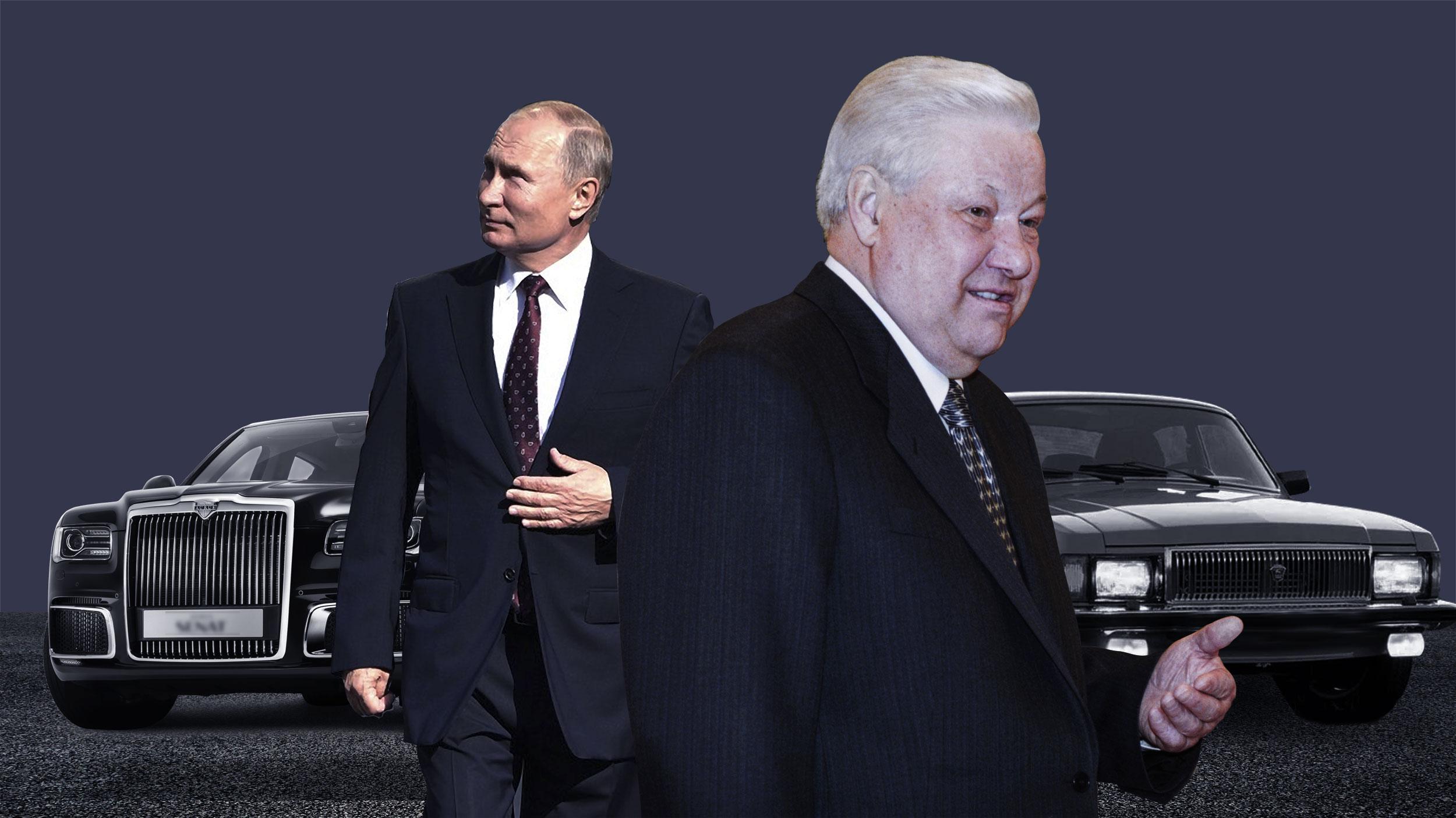 Назад в ведро: как российские чиновники пересаживались на отечественные авто