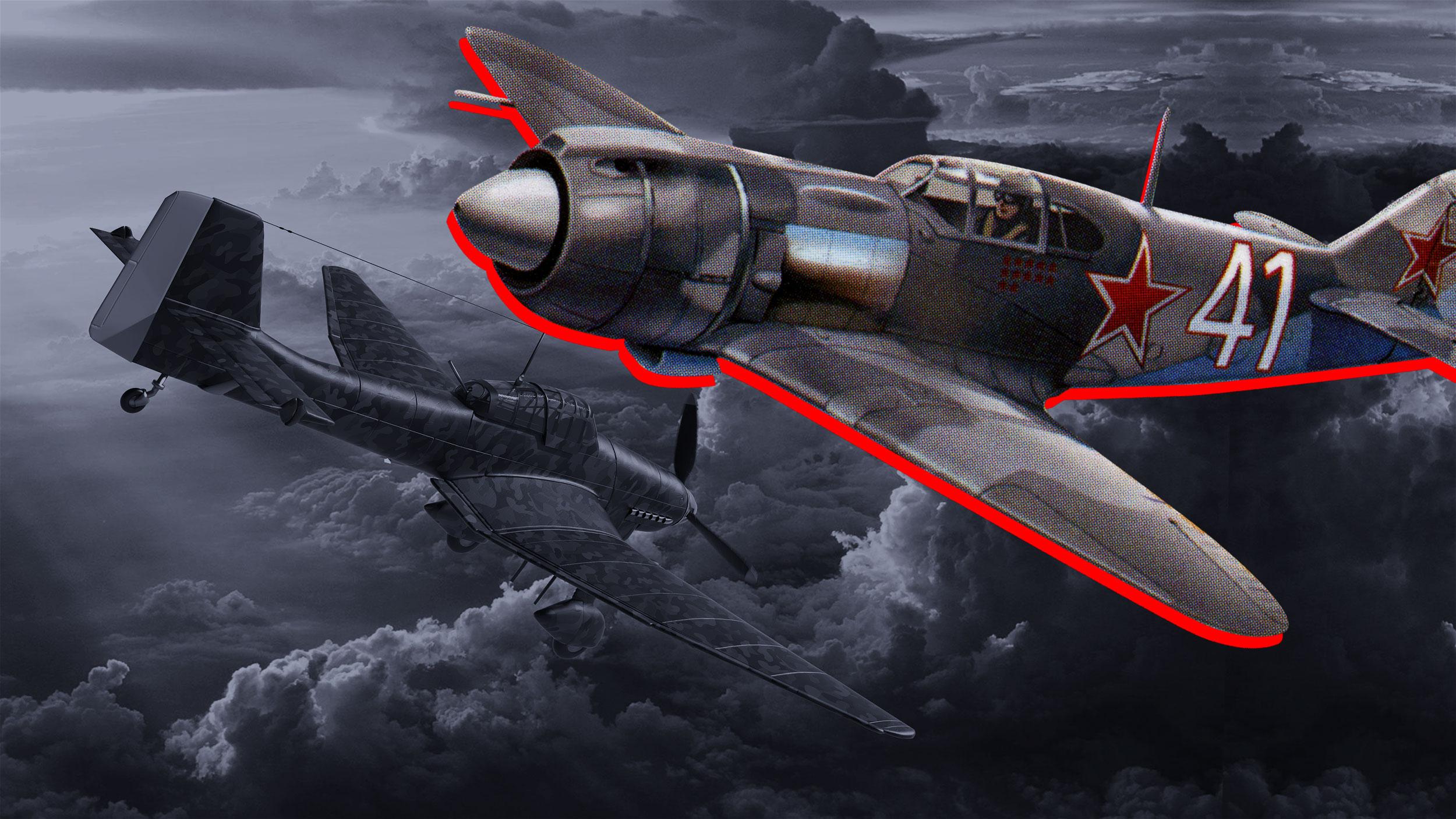 Один советский лётчик против 52 фашистских самолётов: рисковый бой капитана Сидоренкова