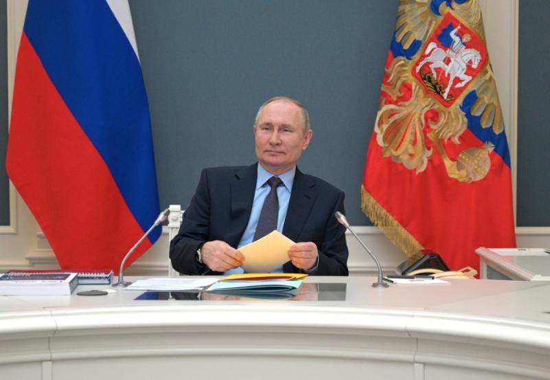В Кремле рассказали о самочувствии Путина после второй прививки