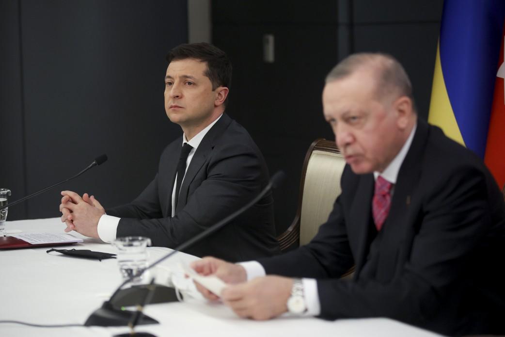 Эрдоган поддержал стремление Украины стать членом НАТО