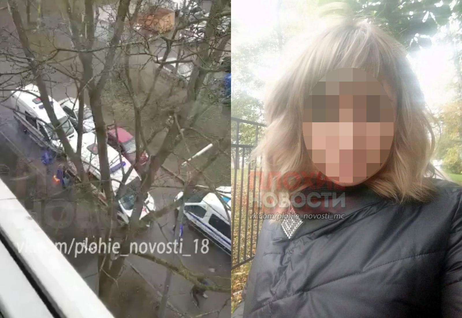 В Питере из квартиры спасли окровавленную мать-полицейскую, кричавшую, что кто-то убил её ребёнка