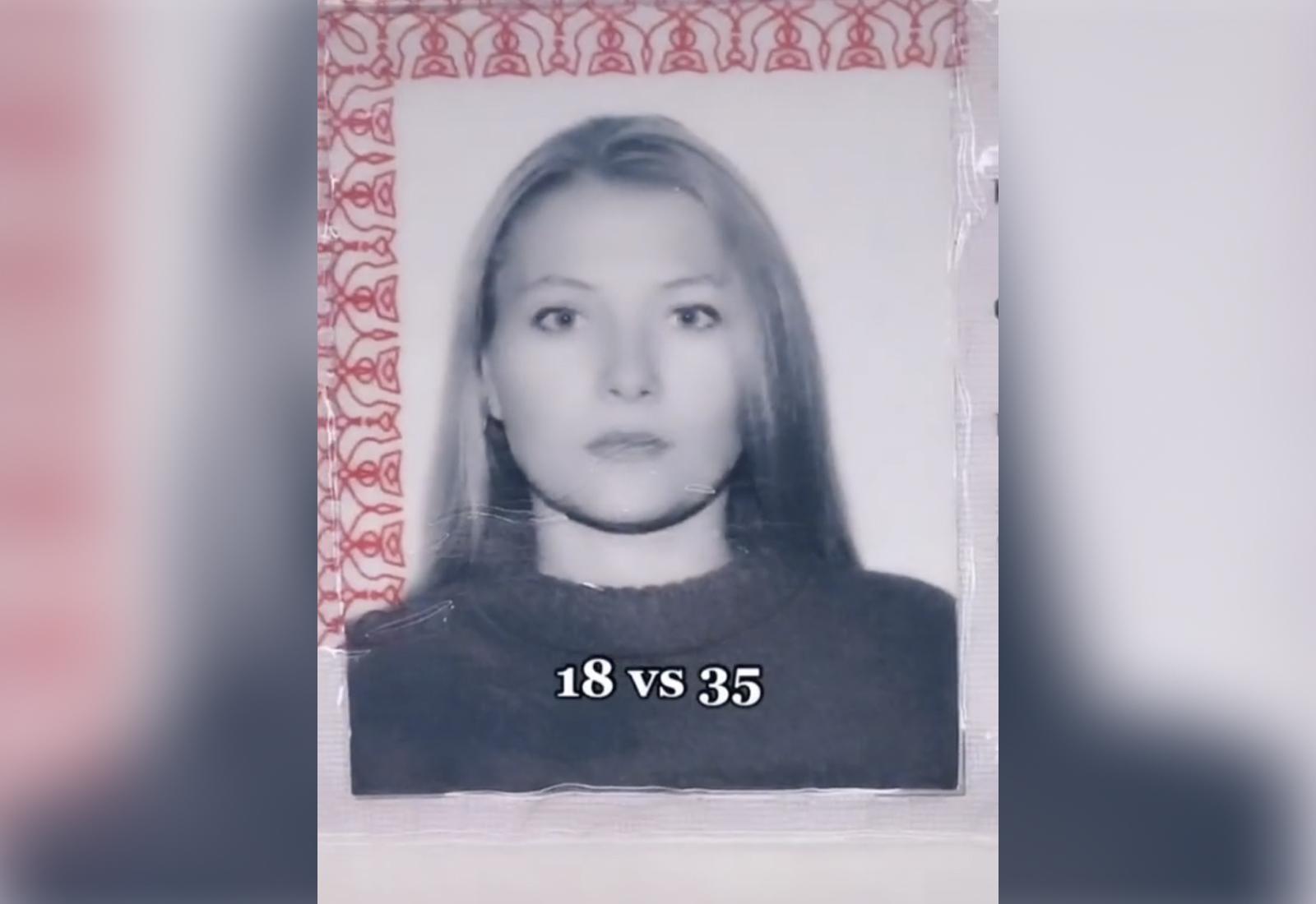 Девушка из Саратова, вместо того чтобы постареть за 17 лет, стала выглядеть ещё моложе, чем раньше