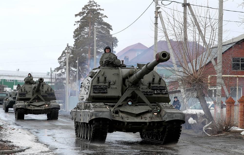 Песков: Российские войска находятся в тех районах страны, где это необходимо