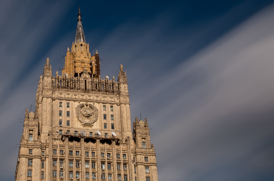 Российский МИД обвинил НАТО в наращивании присутствия на Украине и в Чёрном море